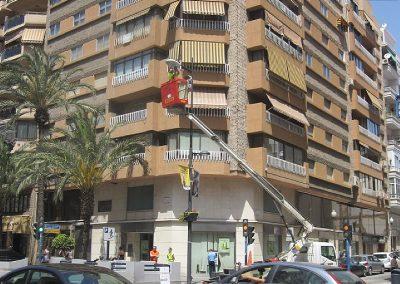 Conservación y mantenimiento integral y servicio 48 horas del alumbrado público de la ciudad de Alicante