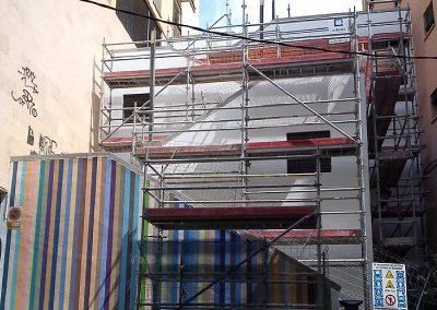 Rehabilitación de varios elementos en el centro de Alicante
